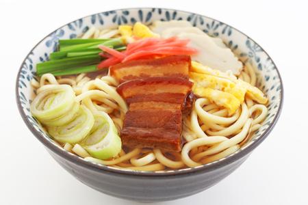 soba: Okinawa soba Stock Photo