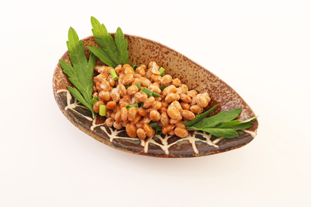 fermented: Fermented soybeans Stock Photo