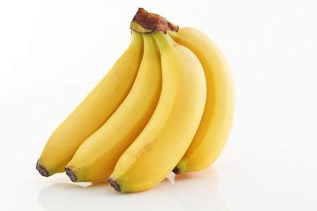 banana peel: Fresh bananas Stock Photo