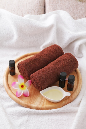 aroma therapy: Wellness and relax, spa and aroma therapy setting.