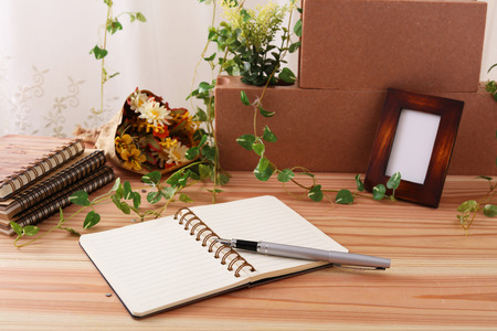 necessities: Simple notebook, sticky, made in Japan Stationery.