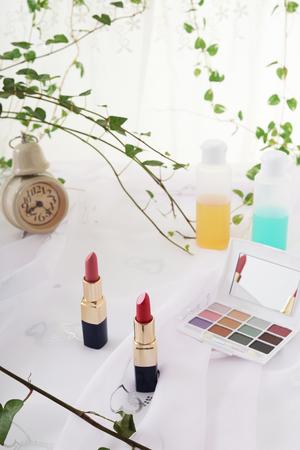 powder room: Cosmetics image Stock Photo