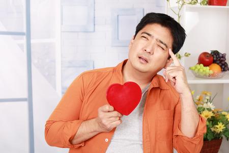 Man who heartbreak Stock Photo