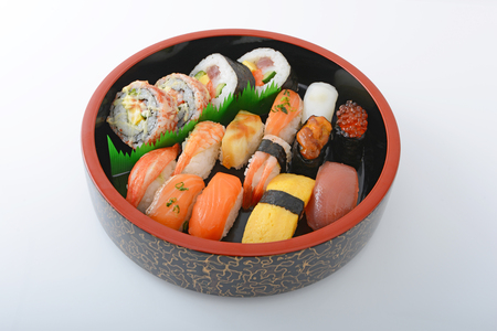 Japanese cuisine Sushi Stock Photo