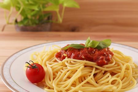 Delicious spaghetti
