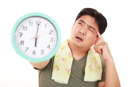日本: Very disappointed man