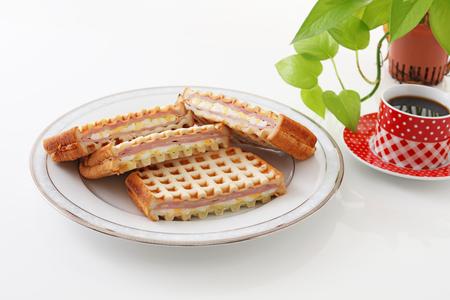 decaf: Tasty breakfast Stock Photo