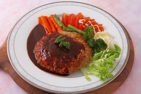 Delicious salisbury steak