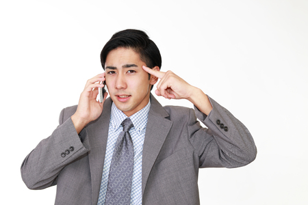 tired businessman: Frustrated Businessman