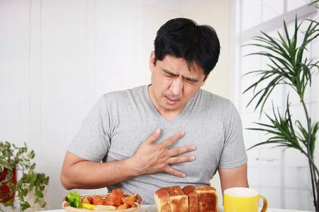 El hombre no tiene apetito