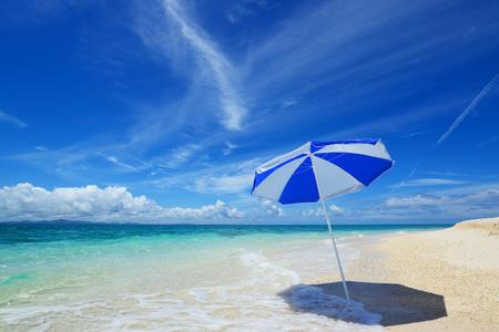 Summertime at the beach Stock fotó