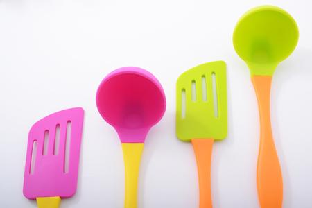 hygienic: Kitchen utensils Stock Photo