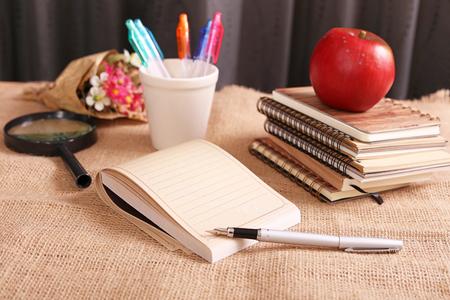 necessities: Notebooks and pen