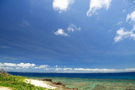 Beautiful sea in Okinawa