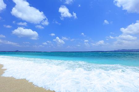 Summertime at the beach Фото со стока