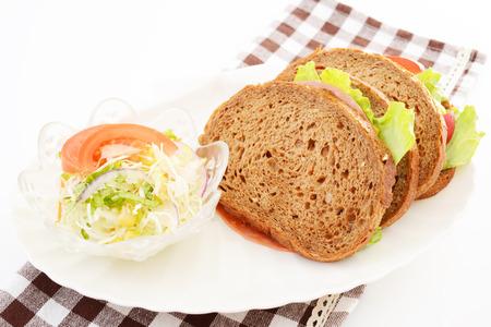 Fresh and tasty breakfast 免版税图像