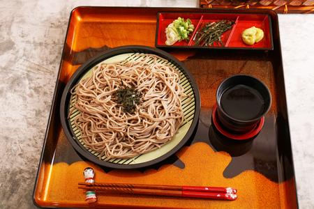 Delicious Japanese cuisine zaru soba
