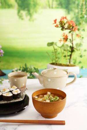 Delicious Japanese cuisine on the table Reklamní fotografie - 123142177