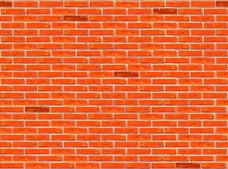 Brick wall pattern seamless background.