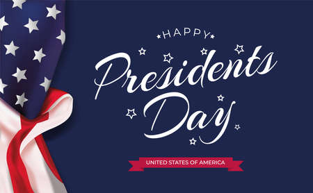 Martin Luther King Day lettering USA background vector illustration. MLK celebration banner with USA flag and text - MLK United States of America Illustration