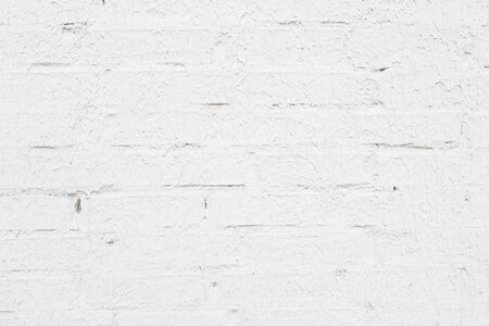 sloppy: White sloppy brick abstract wall background