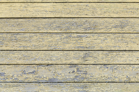 messily: Grey and yellow vintage wooden planks abstract background, copy space