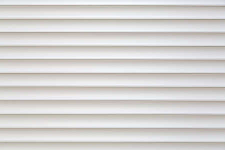 jalousie: Pure and clean white striped jalousie background, copy space