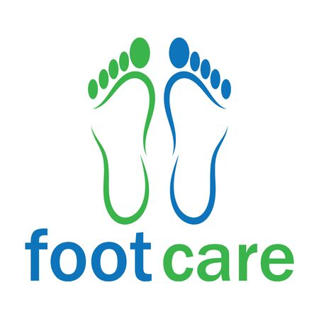 foot Template vector icon illustration design