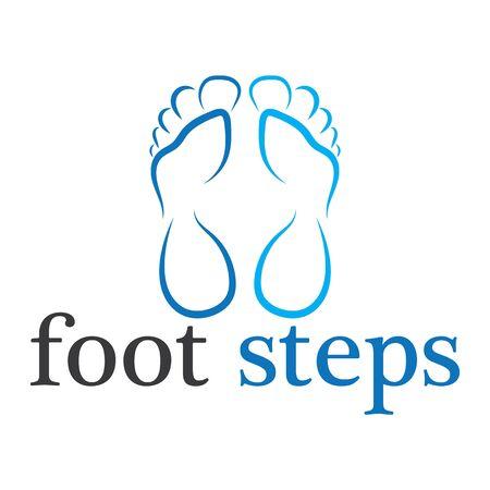 foot  Template vector icon illustration design