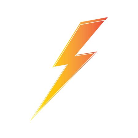 modèle de conception d'électricité de foudre