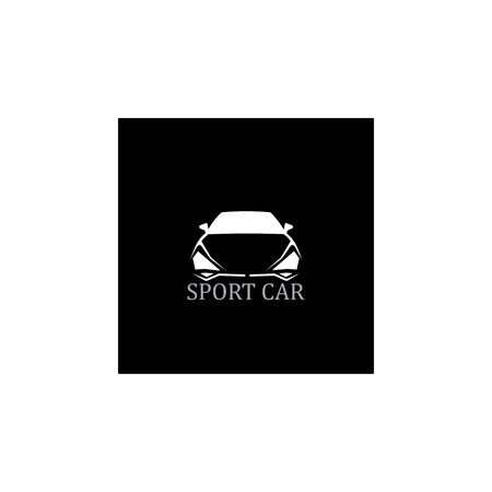 SPORT Car silhouette logo Vector template icons app