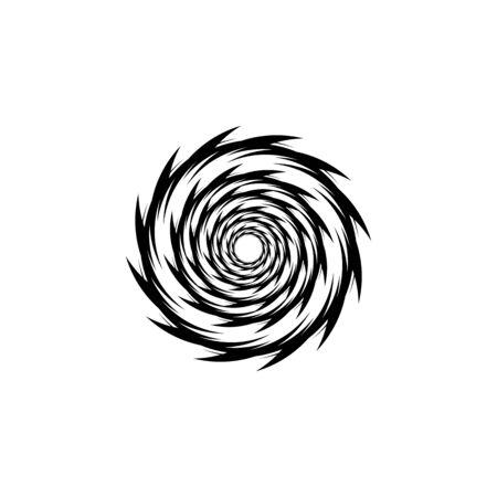 vortex vector illustration icon Logo Template design Logo