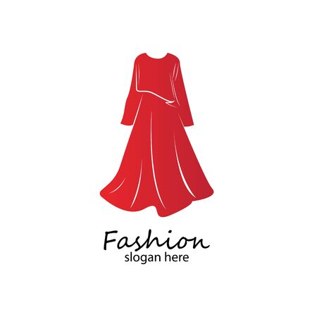 long dress long muslim dress arabic abaya.luxury women fashion.muslim clothes-vector stock