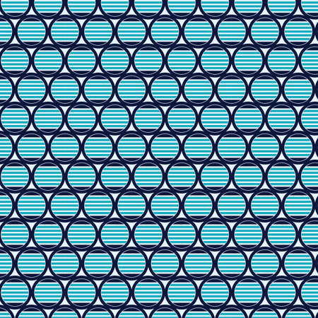 Abstract Geometric circle pattern background