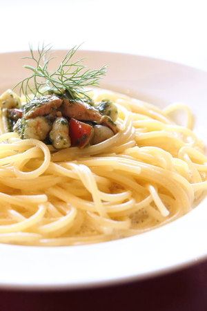 anchovy: Anchovy pasta