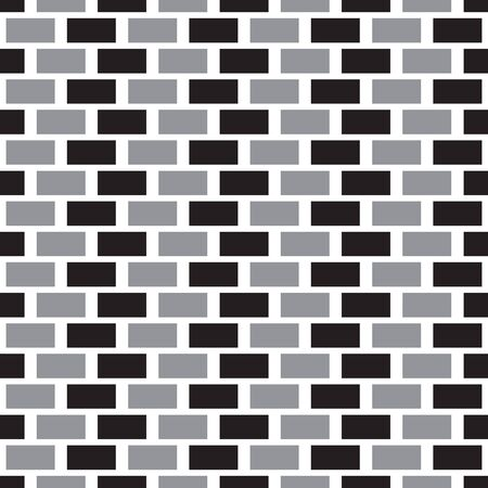seamless pattern brick wall.design for background 矢量图像
