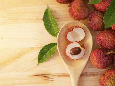 lychees: Lychees Fruit Stock Photo