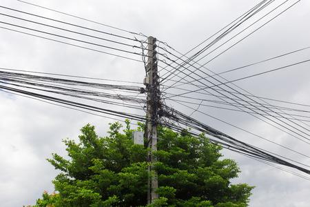 powerline: electric line