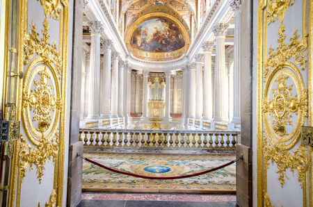 Interior decoration in a public palace in Paris Publikacyjne