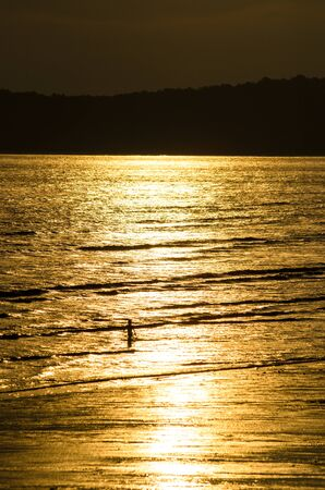 sun set: Sun set by the sea