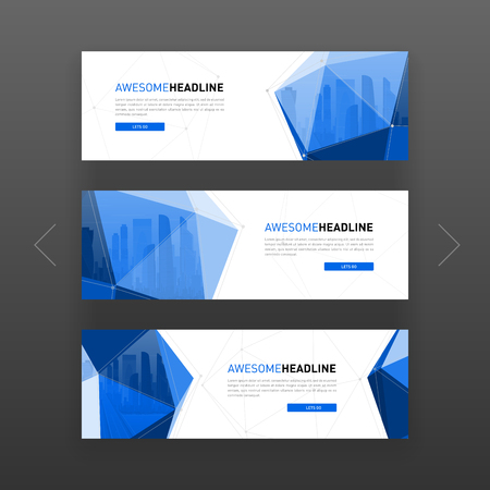 3d lowpoly solid abstract corporate banner or web slideshow template 3d lowpoly solid abstract corporate banner or web slideshow template horizontal advertising business banner or fbccfo Choice Image