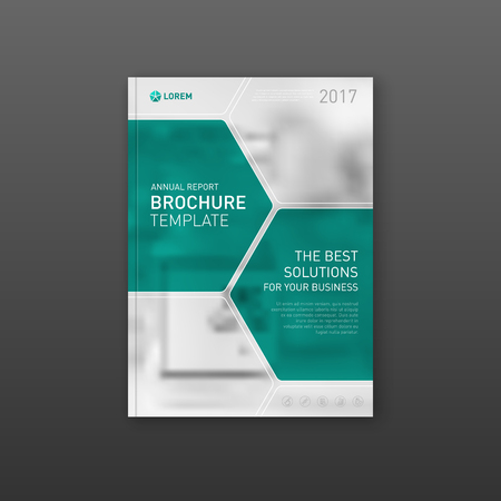 Medical Brochure Cover Template Design Layout Applicable For