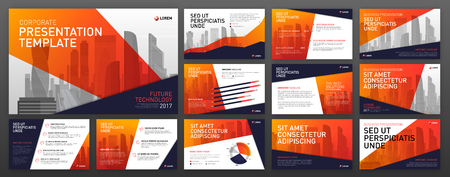 Business presentation templates. Use for powerpoint templates, ppt layout, presentation background, brochure design, website slider, corporate report.