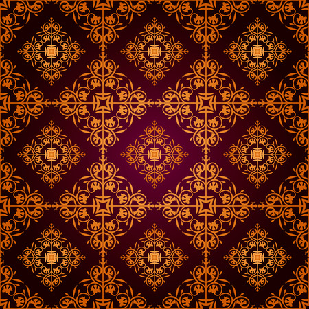seamless gothic wallpaper Stock Vector - 8438449