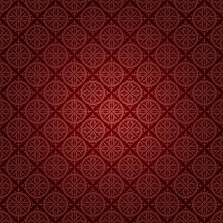 seamless gothic wallpaper Stock Vector - 8438501