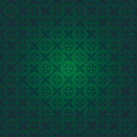seamless gothic wallpaper Stock Vector - 8438464