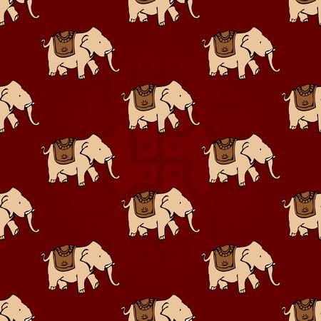 indian elephant: papel tapiz transparente elefante indio rojos y amarillos
