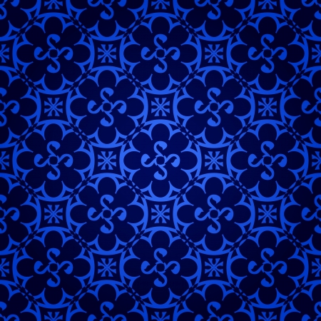seamless gothic wallpaper Vector