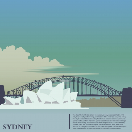 australia: Sydney background