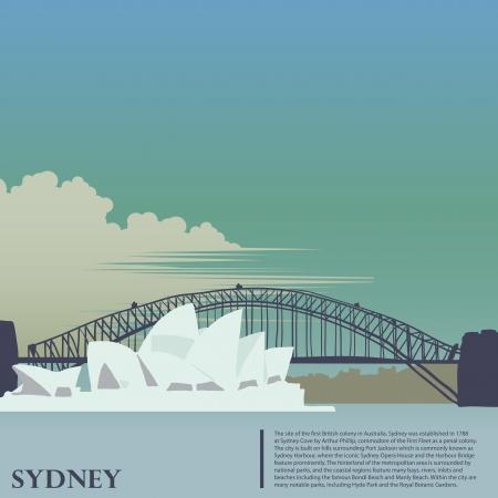 Sydney fond Vecteurs